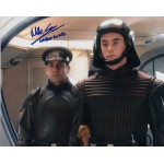 Mike Savva Naboo Guard Star Wars genuine authentic autograph signed photo