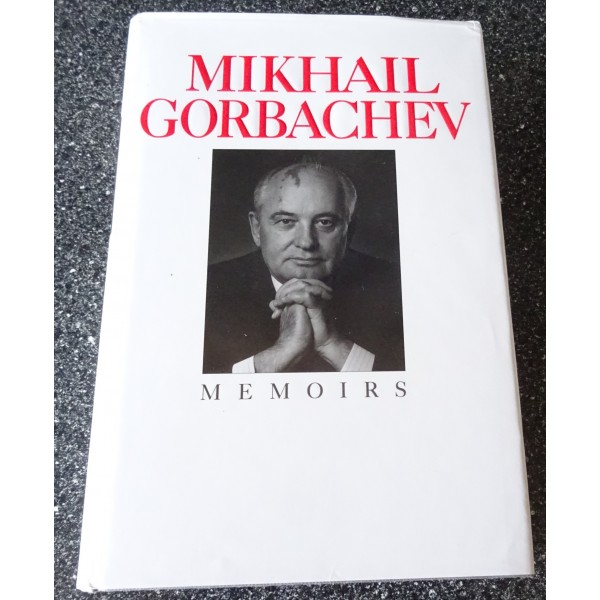 Mikhail Gorbachev signed genuine signature book
