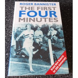 Roger Bannister signed genuine signature book