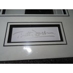 Timothy Dalton James Bond signed genuine signature autograph display