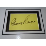 Gary Player Golf signed genuine signature autograph display