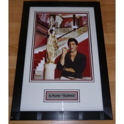 Al Pacino Scarface authentic signed autograph photo display