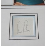 Arnold Palmer Golf signed genuine signature autograph display