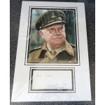 Arthur Lowe Dads Army signed genuine signature autograph display