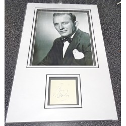 Bing Crosby film signed authentic signature autograph display
