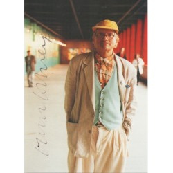 David Hockney 1853 Gallery signed genuine signature autograph photo