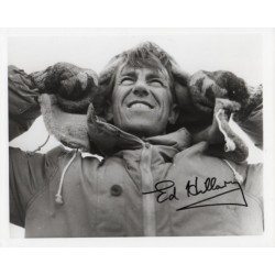 Ed Hillary Everest signed genuine signature autograph photo