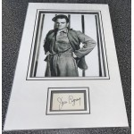 James Cagney signed genuine signature autograph display