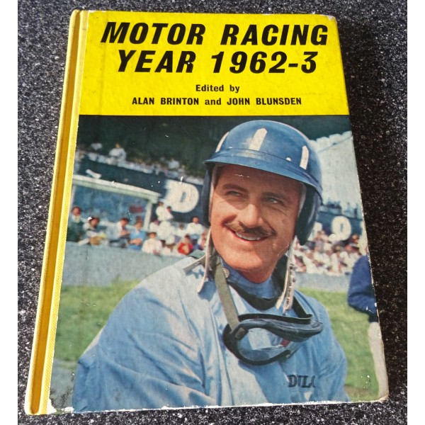 Jim Clark F1 Lotus signed genuine signature Motor Racing Year book