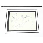 Lee Savold Boxing signed genuine signature autograph display