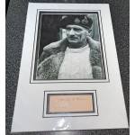 Montgomery of Alamein signed genuine signature autograph display