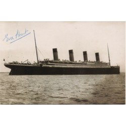RMS Titanic Survivor Edith Haisman signed genuine signature autograph