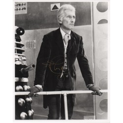 SOLD Peter Cushing Doctor Who signed genuine signature photo