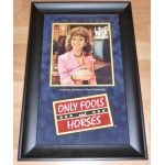 Sue Holderness Only Fools Horses original signed autograph photo display
