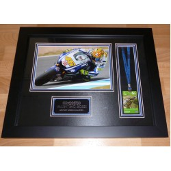 Valentino Rossi authentic signed genuine autograph pass display