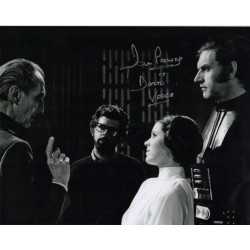 Dave Prowse Darth Vader Star Wars signed genuine signature photo