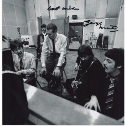 George Martin Beatles signed genuine signature autograph photo 2