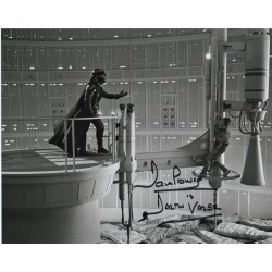 Dave Prowse Darth Vader Star Wars signed genuine signature photo 2