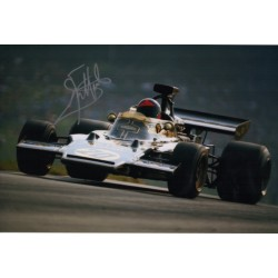 Emerson Fittipaldi F1 Lotus signed genuine signature autograph photo