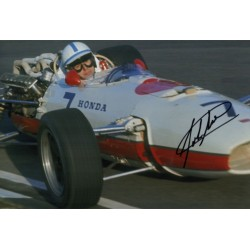 John Surtees F1 Honda signed genuine signature autograph photo