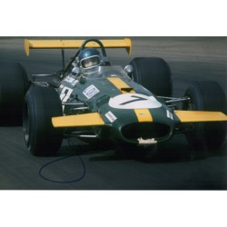 Jackie Ickx F1 Brabham signed genuine signature autograph photo