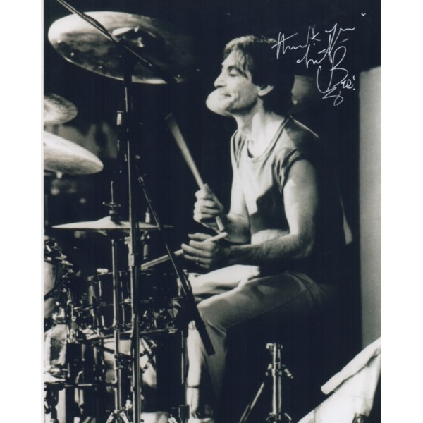 Charlie Watts Rolling Stones signed genuine signature autograph photo 5
