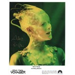 Alice Krige Star Trek Voyager genuine signed authentic signature photo