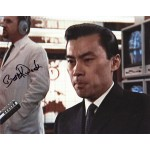 Burt Kwouk James Bond genuine signed authentic signature photo