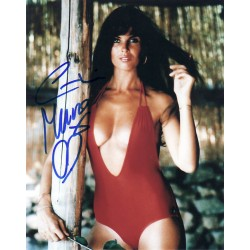 Caroline Munro James Bond genuine signed authentic signature photo UACC