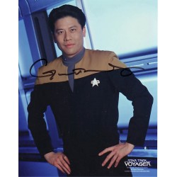 Garrett Wang Star Trek Voyager genuine signed autograph photo