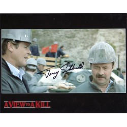 James Bond Tony Sibbald signed original genuine autograph authentic photo