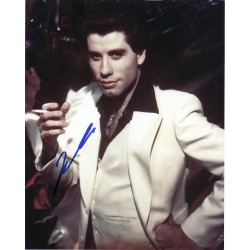 John Travolta Saturday Night Fever genuine signed authentic signature photo