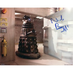 Nick Briggs Doctor Who genuine signed authentic signature photo