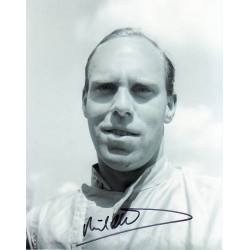 Richard Attwood F1 genuine signed authentic signature photo