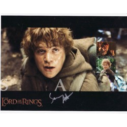 Sean Astin Lord of the Rings genuine signed authentic autograph photo