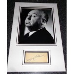 Alfred Hitchcock genuine authentic signed autograph photo display