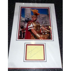 Jack Hawkins genuine authentic signed autograph photo display