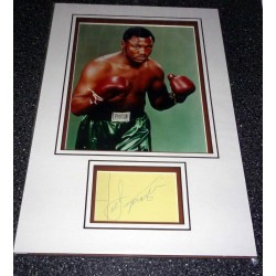 Joe Frazier Boxing genuine authentic autograph signature and photo