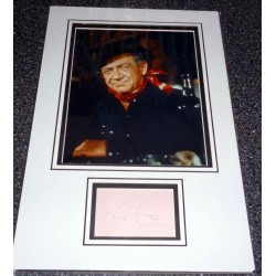 Sid James Carry On genuine authentic autograph signature and photo