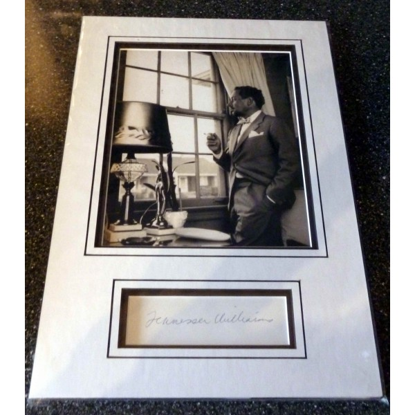SOLD Tennessee Williams genuine authentic signed autograph signature display 2