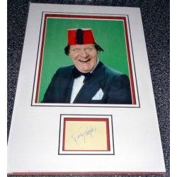 Tommy Cooper Comedy legend genuine authentic autograph signature and photo
