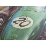 Jim Clark Lotus authentic signed magazine page image display