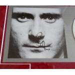 Phil Collins Face Value signed genuine autograph CD display