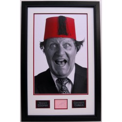 Tommy Cooper Comedy Legend authentic signed framed autograph