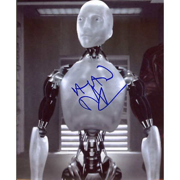 Alan Tudyk I Robot genuine authentic signed autographs photo