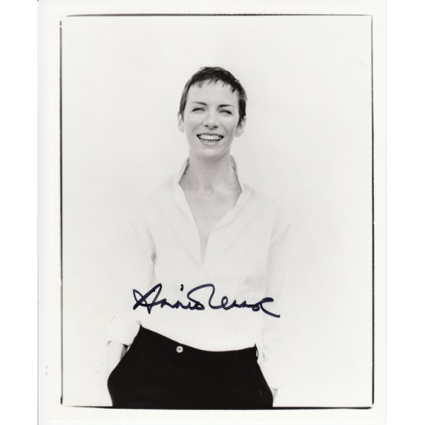 Annie Lennox Tourists Eurythmics signed original genuine autograph authentic photo
