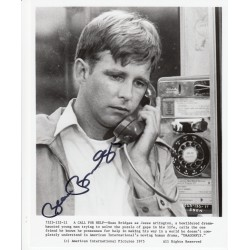 Beau Bridges Dragonfly genuine signed authentic signature photo