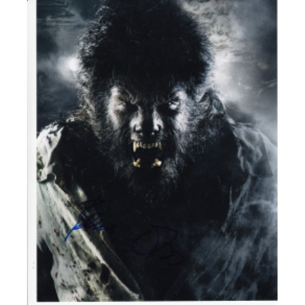 Benicio del Toro The Wolfman genuine signed authentic signature photo