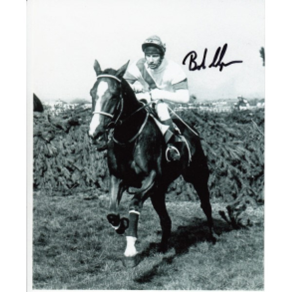 Bob Champion Horse Racing genuine signed photo.