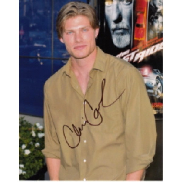 Chris Carmack genuine signed authentic signature photo